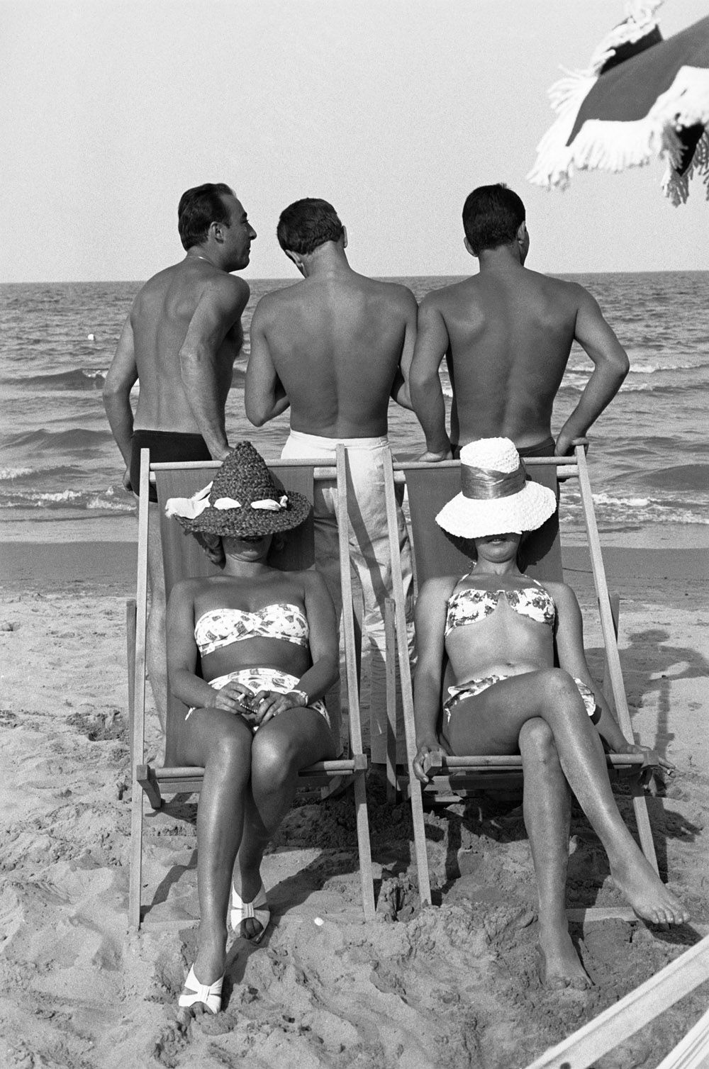 Italian beach life past and present