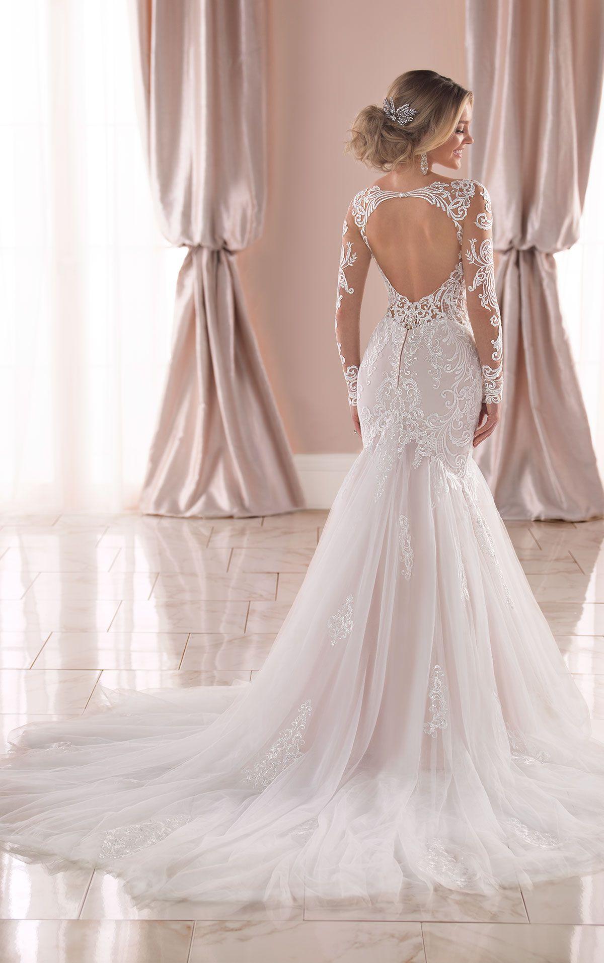 Almaj Bridal Auckland Wedding Dresses Bridal Shop Trumpet Wedding Dress Lace Long Sleeve Mermaid Wedding Dress Wedding Dresses Lace [ 1914 x 1200 Pixel ]