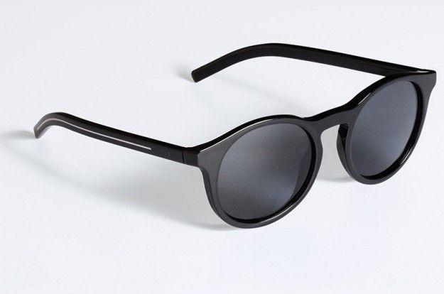 cf4e496f69 Occhiali da sole tondi neri Dior | Occhiali sole | Occhiali da sole ...