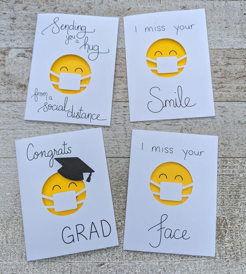 I Miss Your Smile | Mini Quarantine Miss You Card