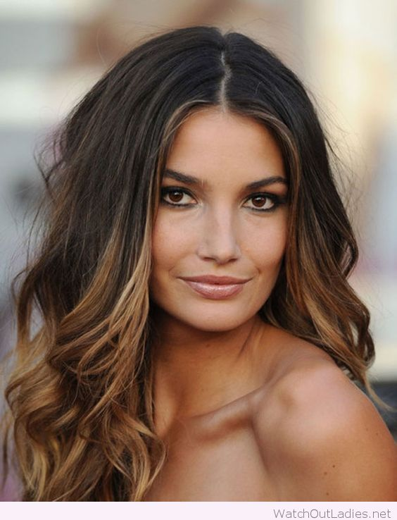 Brunette with caramel highlights just amazing hair pinterest 27 hair color ideas for brunette hair color gals for when you wanna give your locks a makeover from soft caramel highlights to hair changing balayage pmusecretfo Images