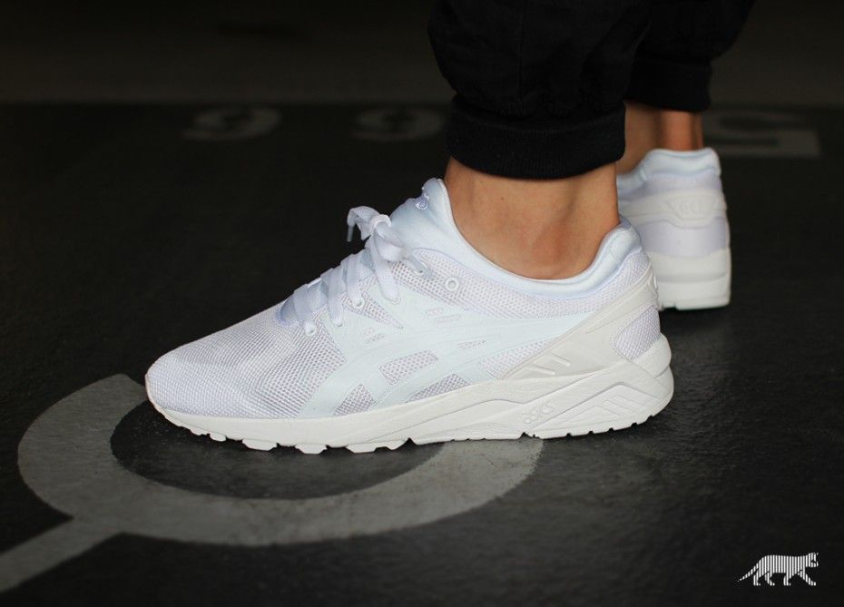 asics gel-kayano trainer evo wit