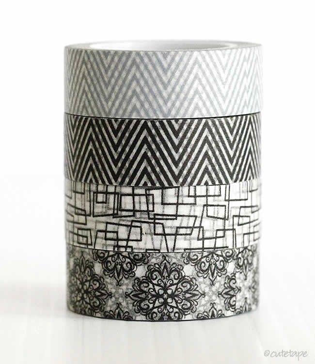 Retro+Pattern+Washi+Tape $2.00