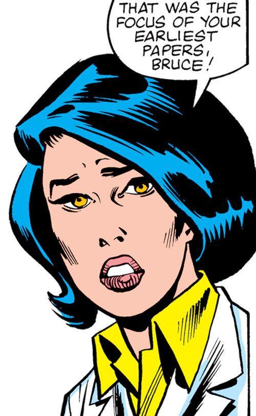 Kate Waynesboro of SHIELD (Hulk character) (Marvel Comics) face closeup