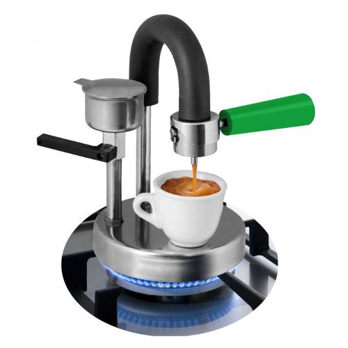Kamira カミラ 直火式エスプレッソメーカー グリーン ならブランディングコーヒー In 2020 Espresso Machine Stove Top Espresso Coffee