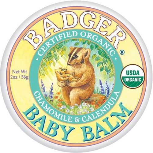 Trying this on our babies atopic dermatitis. Badger Baby Balm #BabyOrganicJoy