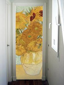 Resultado de imagen de puertas estilo van gogh