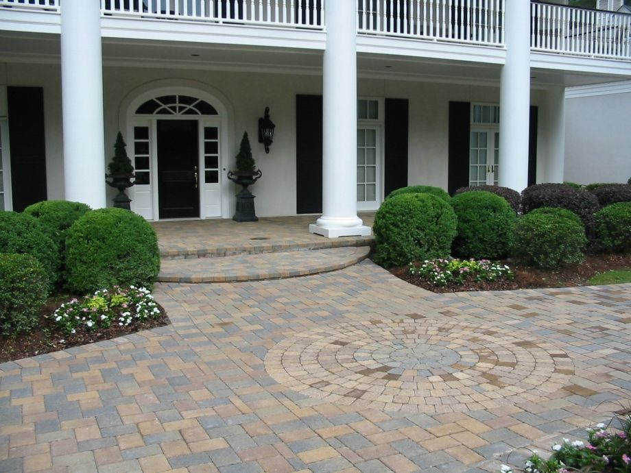Residential Walls And Pavers Rpm Landscape Pavers Atlanta