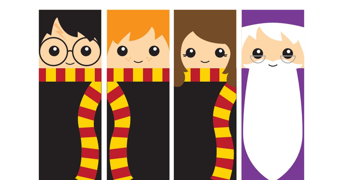 Free Printable Harry Potter Bookmarks Harry Potter Bookmark