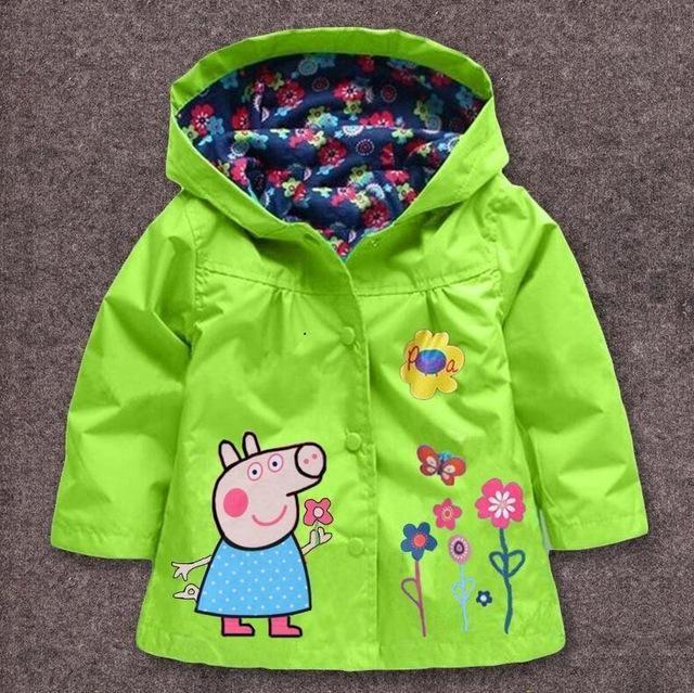 010712ef57bd Peppa Pig - Rain Coat   Jacket