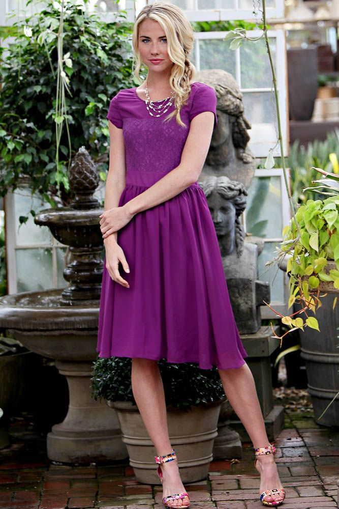 isabel-modest-dress-in-purple-16.jpg (667×1000) | Wedding ideas ...
