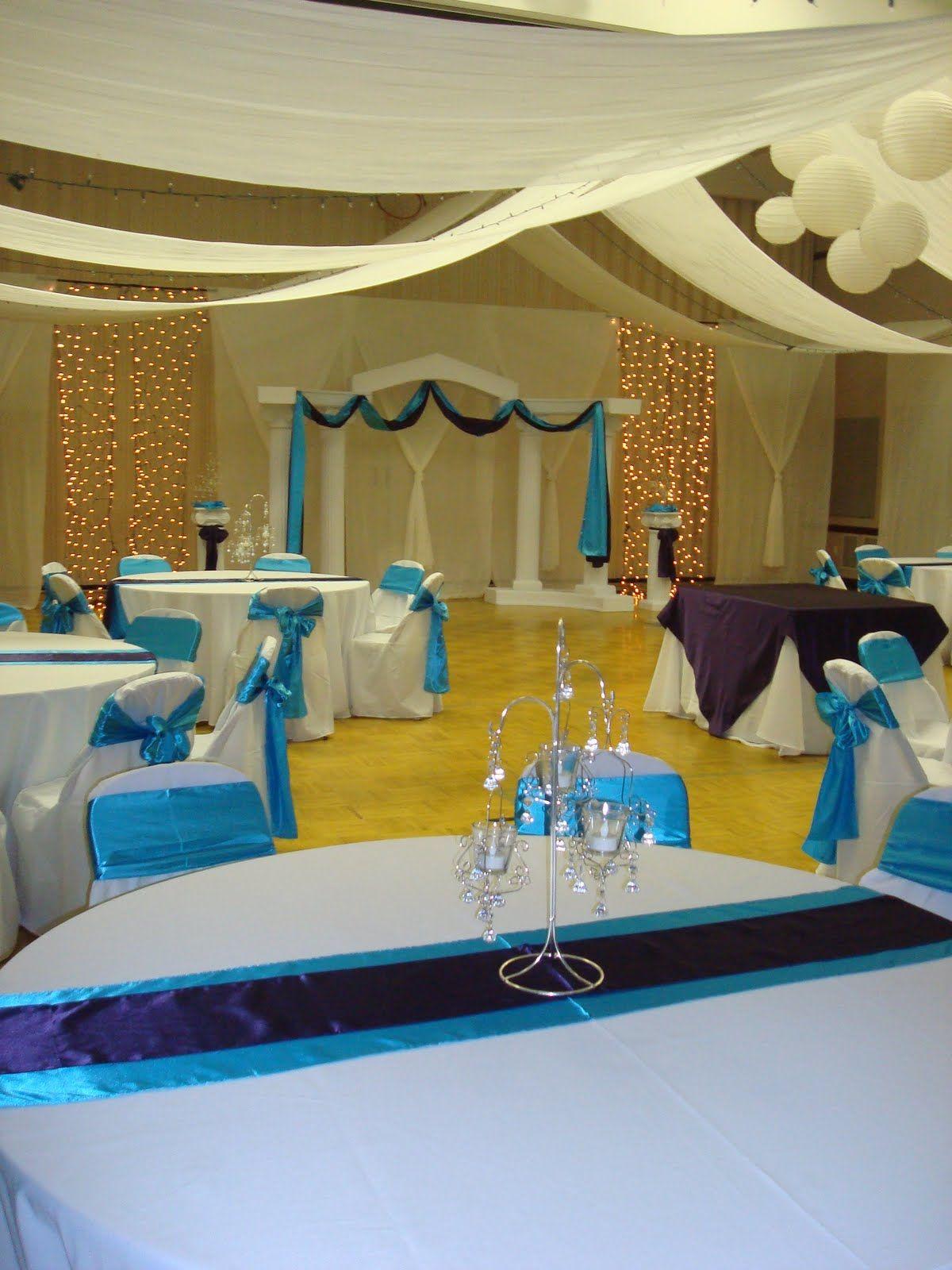 Utah Cultural Hall Wedding Decor | Decoración de unas ...