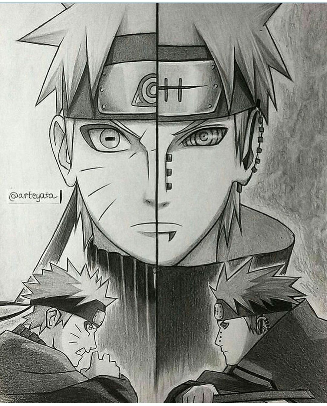 Naruto Nagato The Sibling Disciple Credits Arteyata With