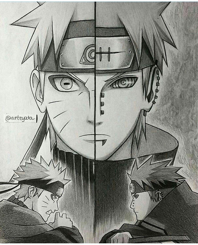 Naruto nagato the sibling disciple credits arteyata manga dessin naruto naruto et - Dessin naruto manga ...
