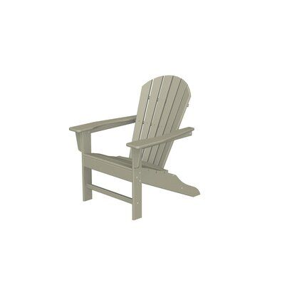 Polywood South Beach Recycled Plastic Adirondack Chair Color