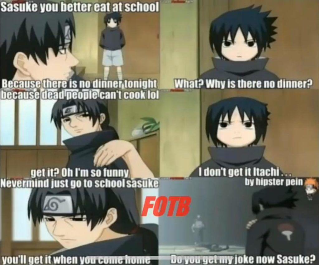Today 17 Most Funny Memes Naruto Funny Funny Naruto Memes Naruto