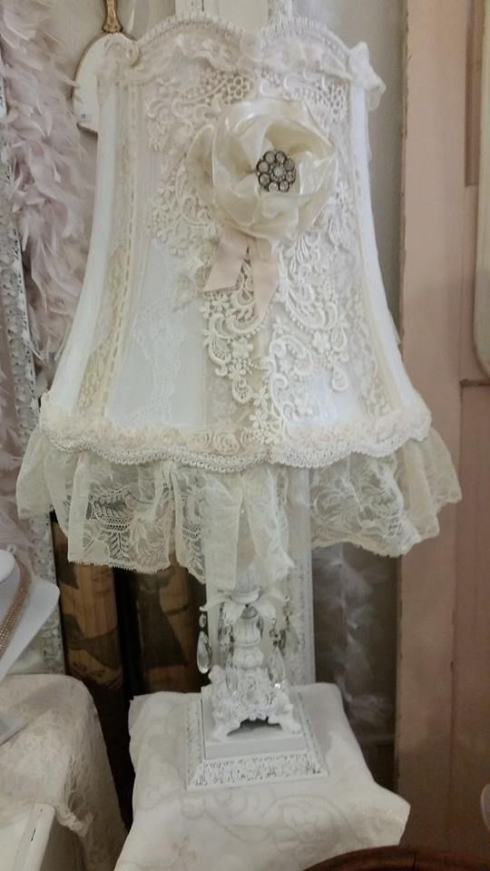 Shabby Chic Lamp Shades Vintage Bedrooms