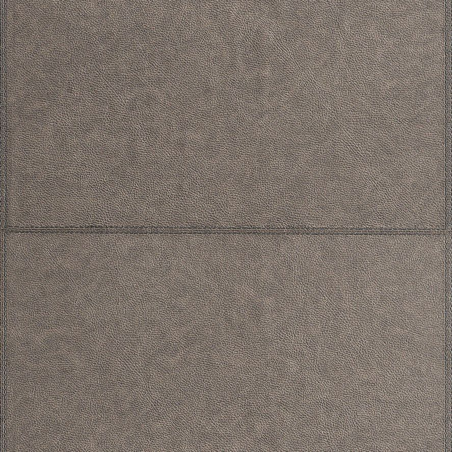 Wall Fashion Impala Brown Leather Panel Leather Effect Wallpaper
