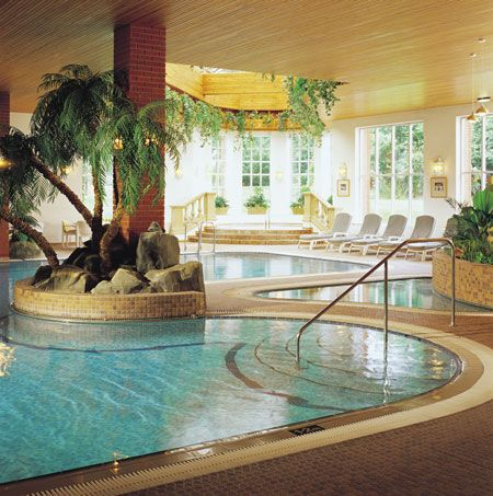 Indoor SPA...maybe someday! Spa, Hotel spa, Luxury spa