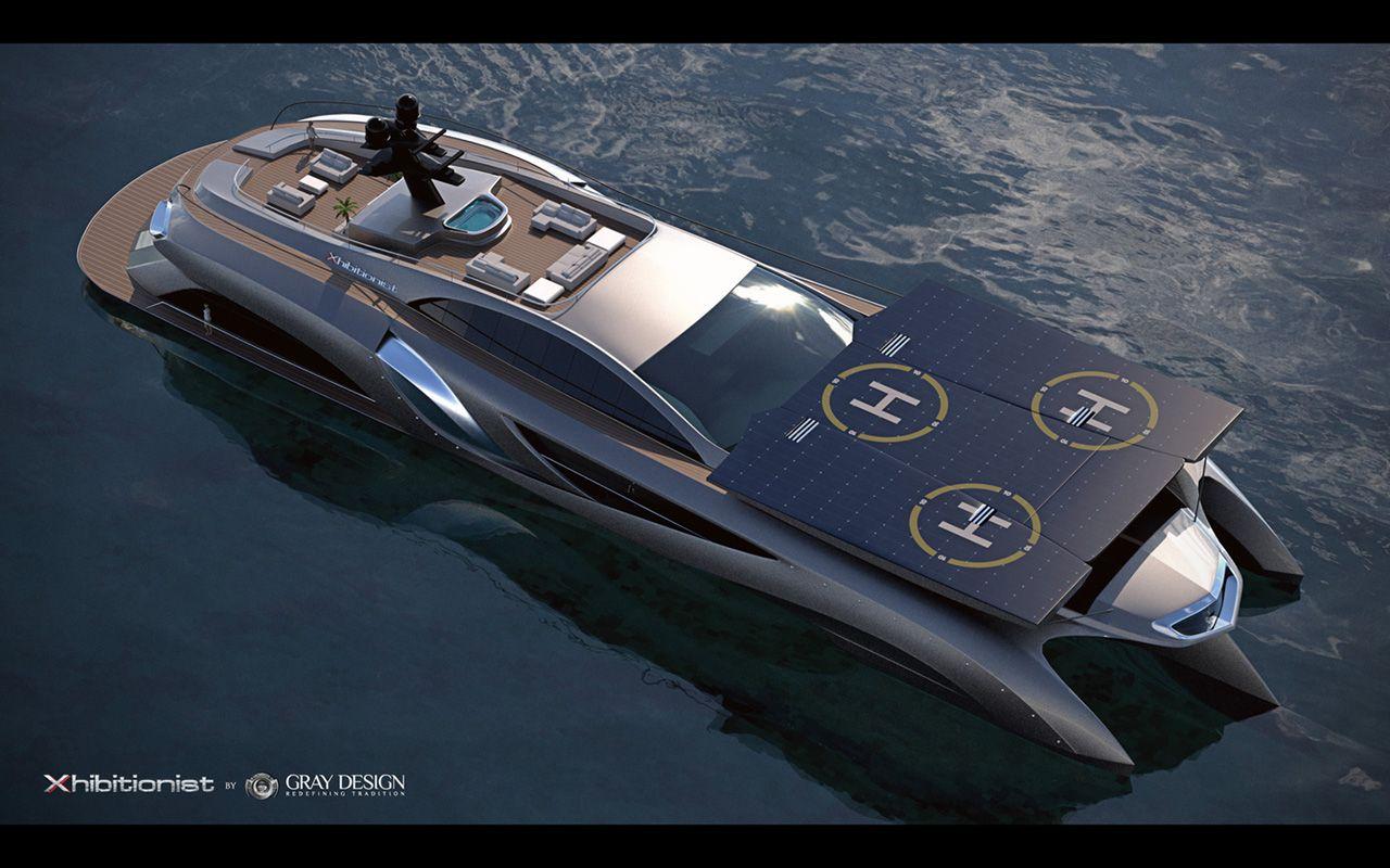 2013 Gray Design Xhibitionist Yacht