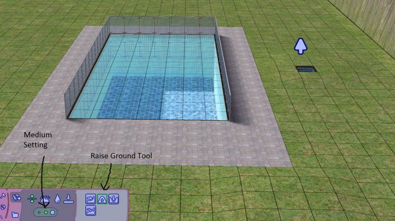 Mod The Sims How to make an above ground pool Piscine