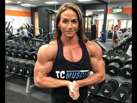 pingary nathan on female bodybuilders  upper body