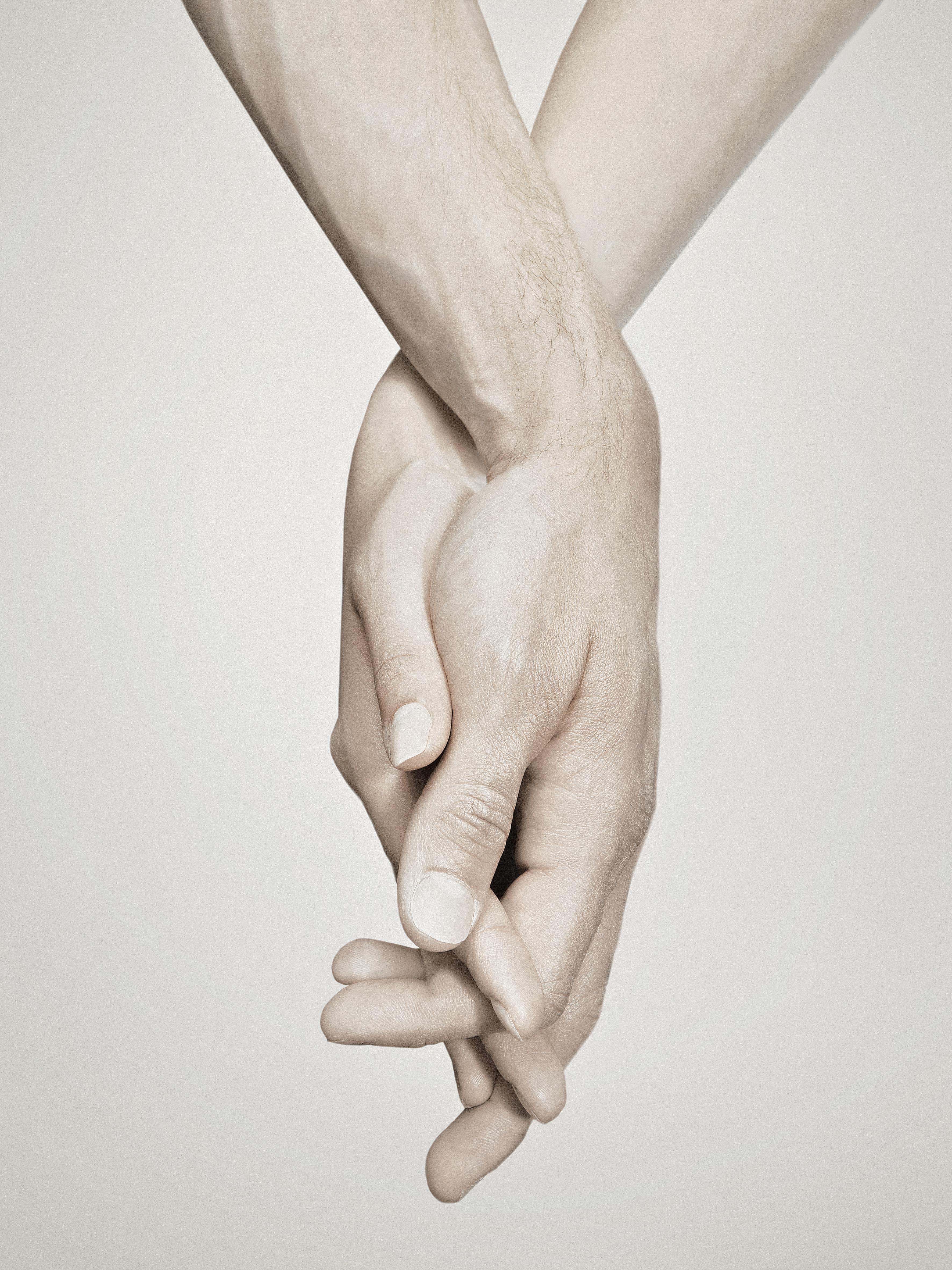 Dating en holding handen