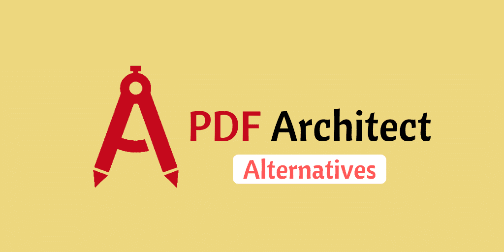 Best Pdf Architect Alternatives With Impressive Performance Alternative Pdf Architect