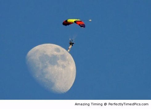 Moon Parachute Landing On The Moon Isn T Easy But Trying Is