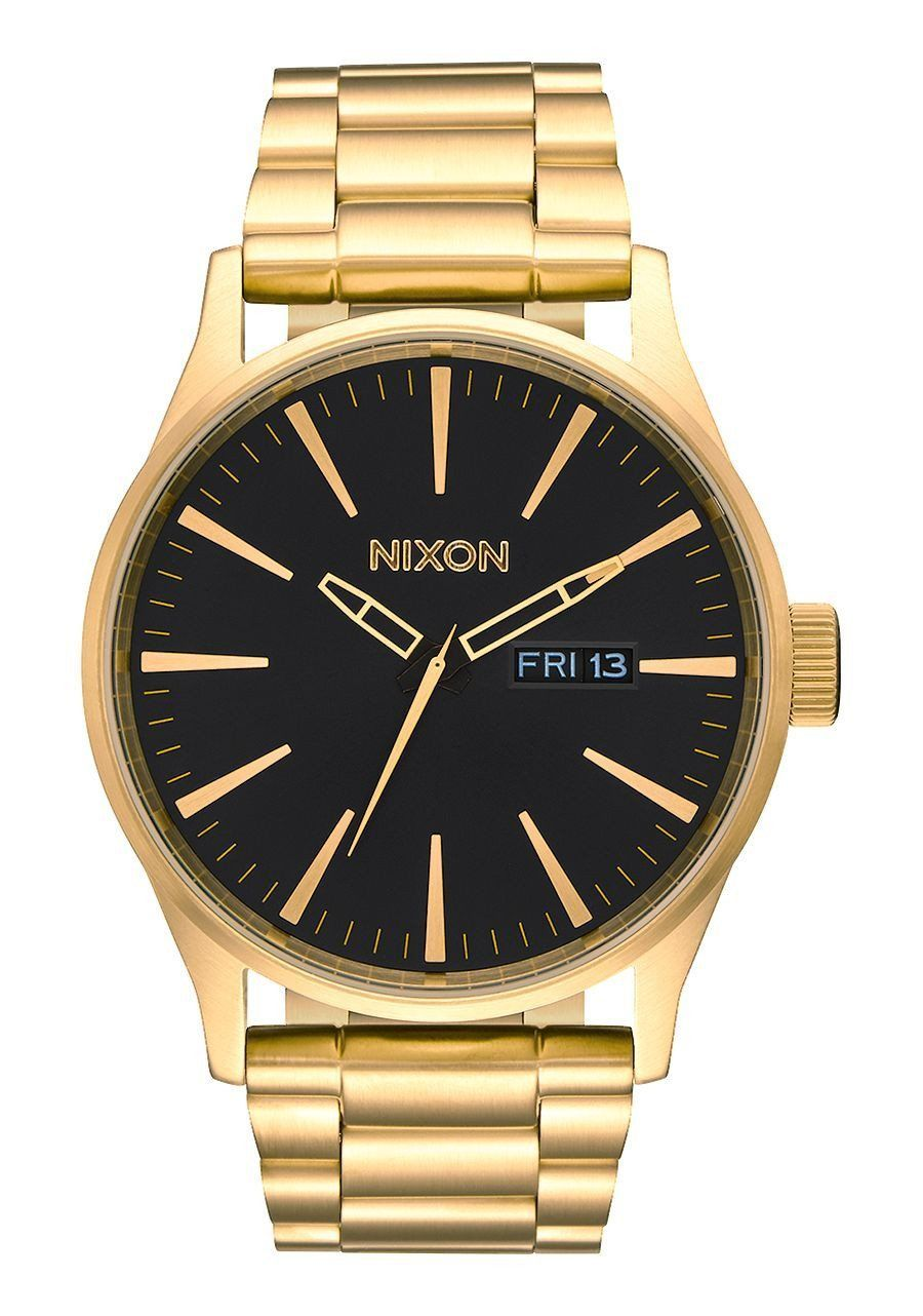 Nixon sentry ss gold black products pinterest products
