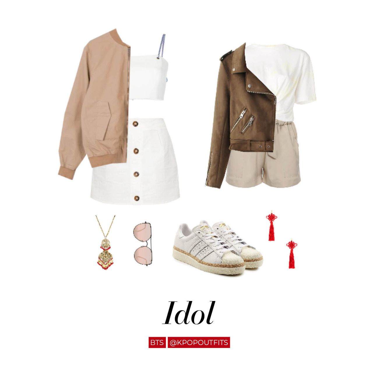 Outfits Inspired By Idol By Bts Click Here To Find Where To Buy Clothing Pi Bts Inspired Outfits Korean Fashion Kpop Inspired Outfits Kpop Fashion Outfits