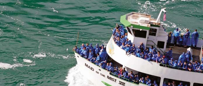 Maid Of The Mist Boat Tour Tickets Niagara Falls State Park