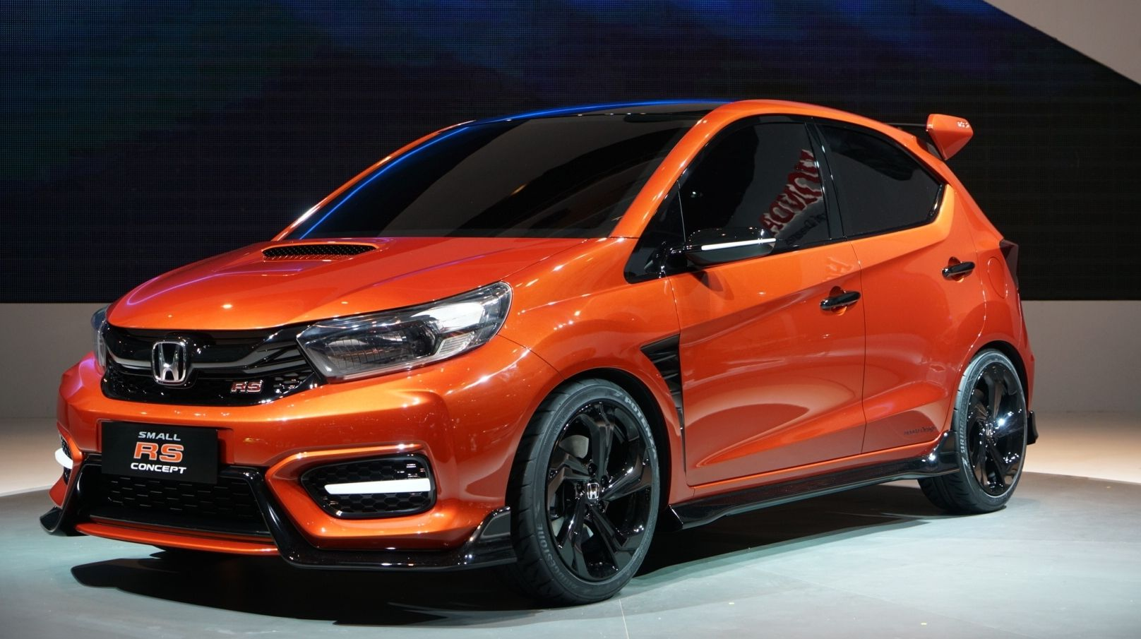 The Honda Small Rs Concept Is Indonesia S Solution For A Tiny Civic Type R Mobil Keren Mobil Honda