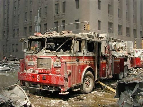Image result for Fire Truck 9/11