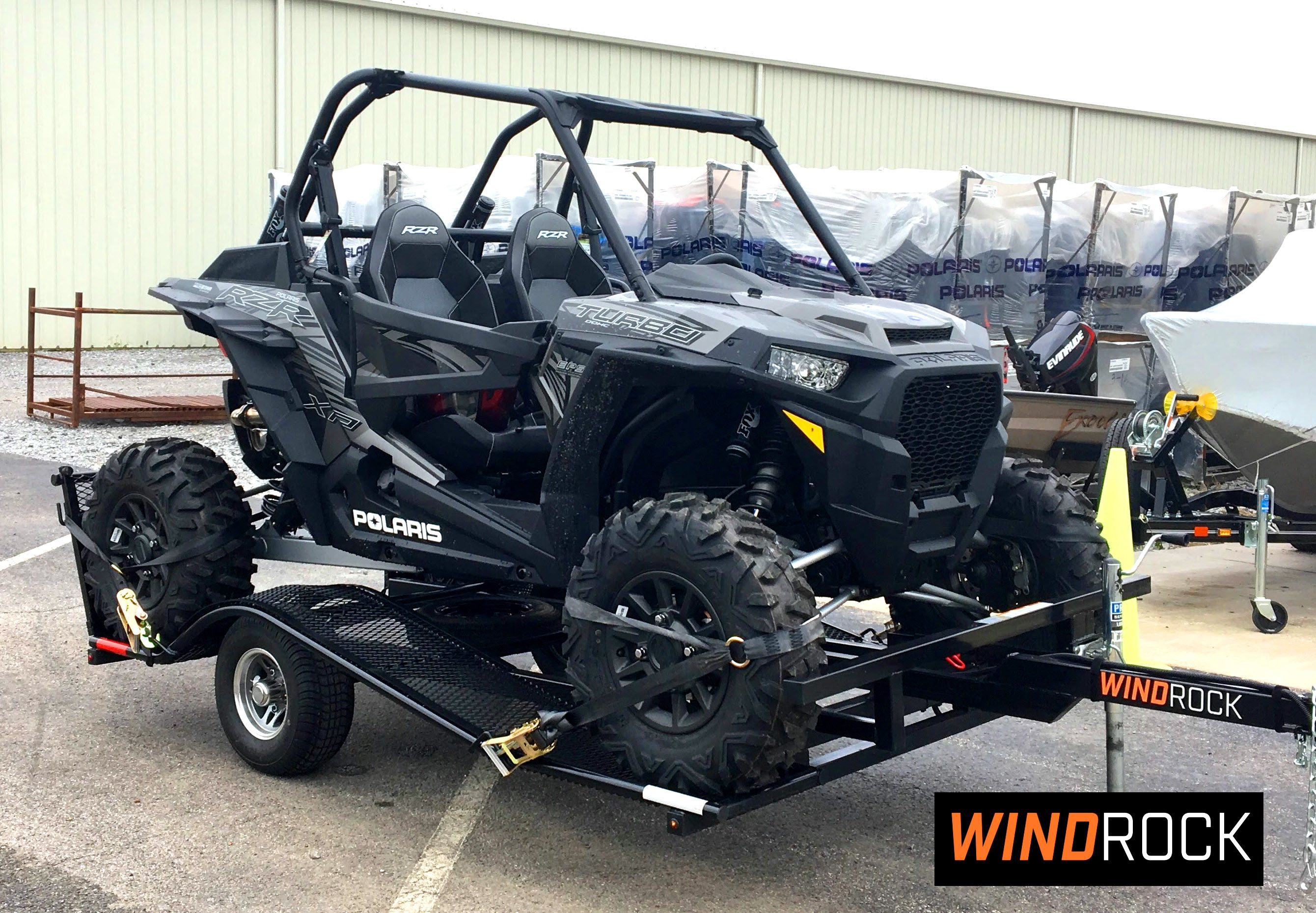 hight resolution of polaris rzr xp 1000 trailer by windrock trailers