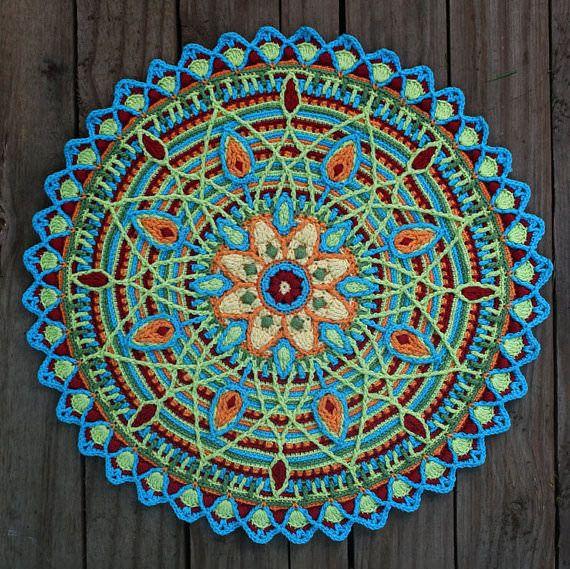 Mandalas häkeln und entspannen #crochetmotif