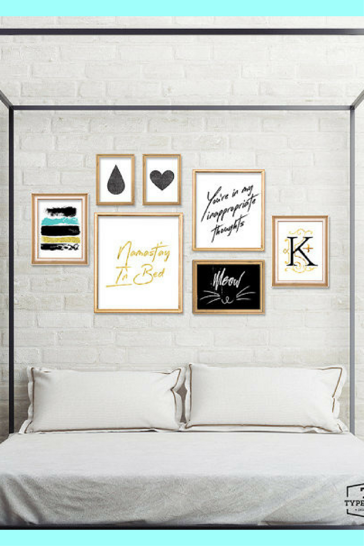 Unny Prints Female Bedroom Art Cool Bedroom Art Bedroom Printables Bedroom Art Sayings Bedroom Funny Decor Ad Funny Decor Woman Bedroom Awesome Bedrooms