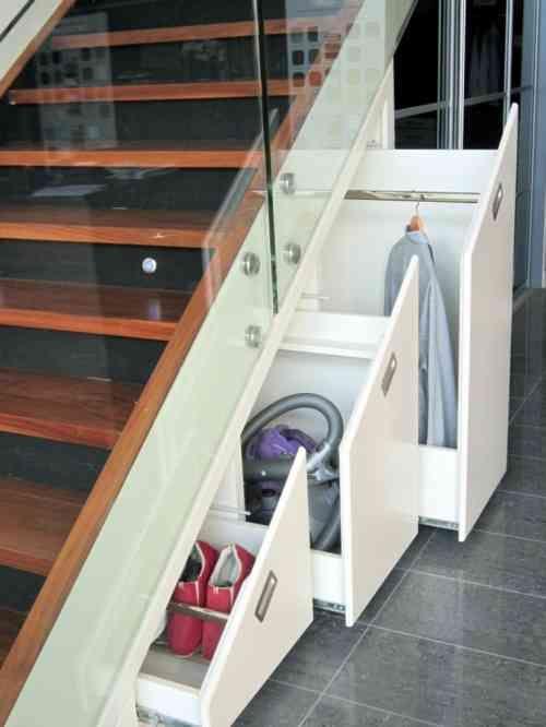 Rangement Sous Escalier Avec Des Tiroirs Design Oppbevaring