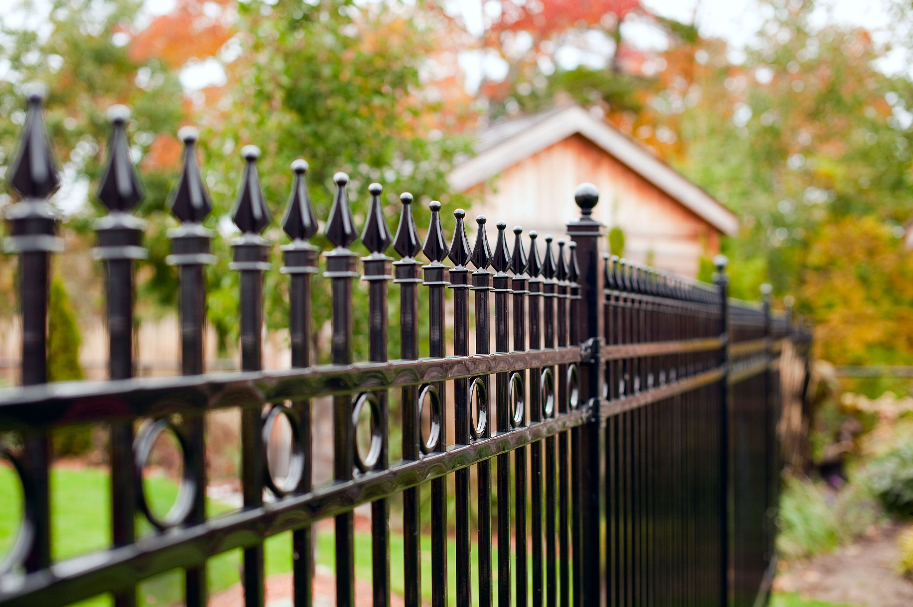 All About Metal Fences In 2020 Iron Fence Metal Fence Modern Fence