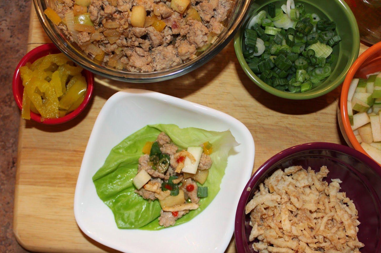 Pow Pow Sauce & Lettuce Wraps