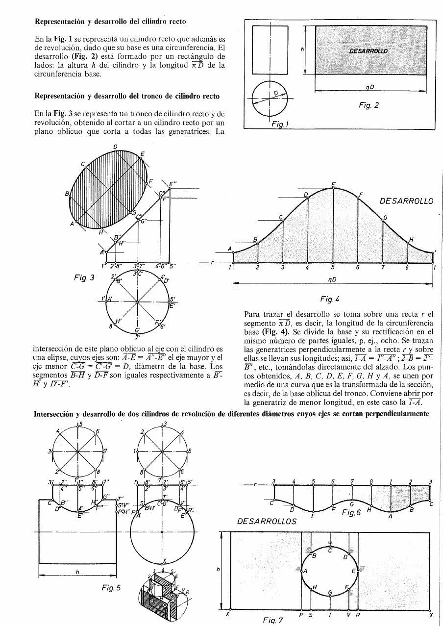 Intersecciones Y Desarrollos Trazados De Caldereria Pdf Caldereria Fabricacion De Metales Caldereria