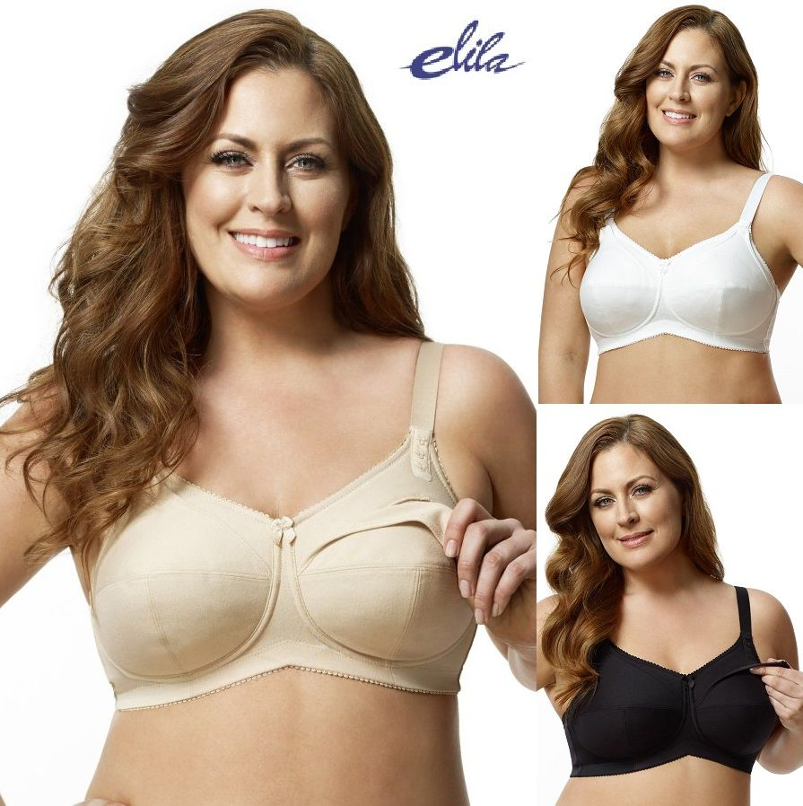 4b7c47860 Love This   Elila Cotton Softcup Nursing Bra Wireless