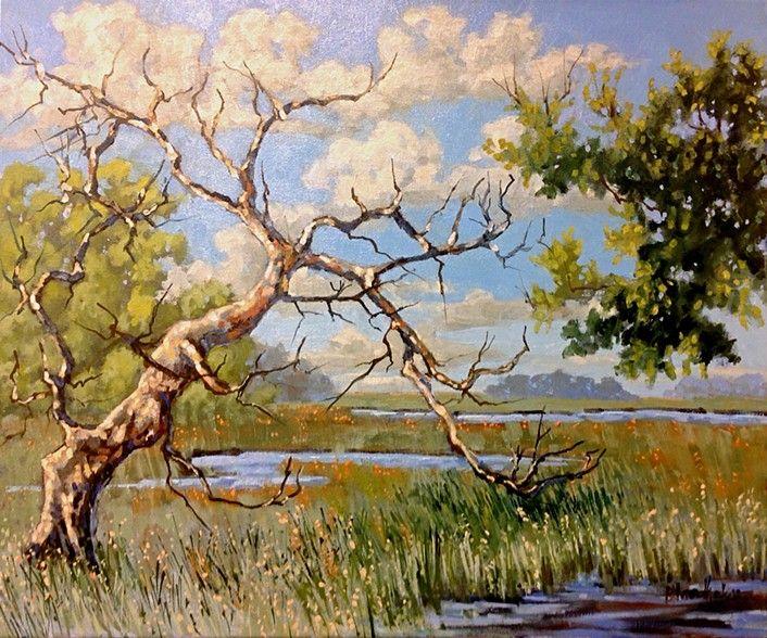 Linda Blondheim Tree Paintings