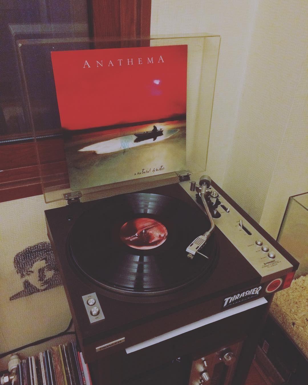 Francis Blackwood Leonard On Instagram Nowspinning Anathema Anaturaldisaster 180gram Vinyl Record Vinyl Blackwood Instagram