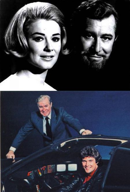 Edward Mulhare - The Ghost and Mrs  Muir and Knight Rider | The