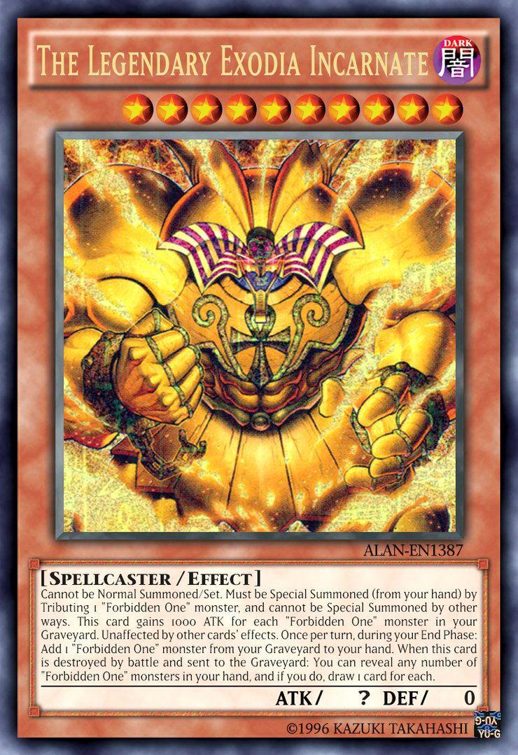 The legendary exodia incarnate by alanmac95 on deviantart