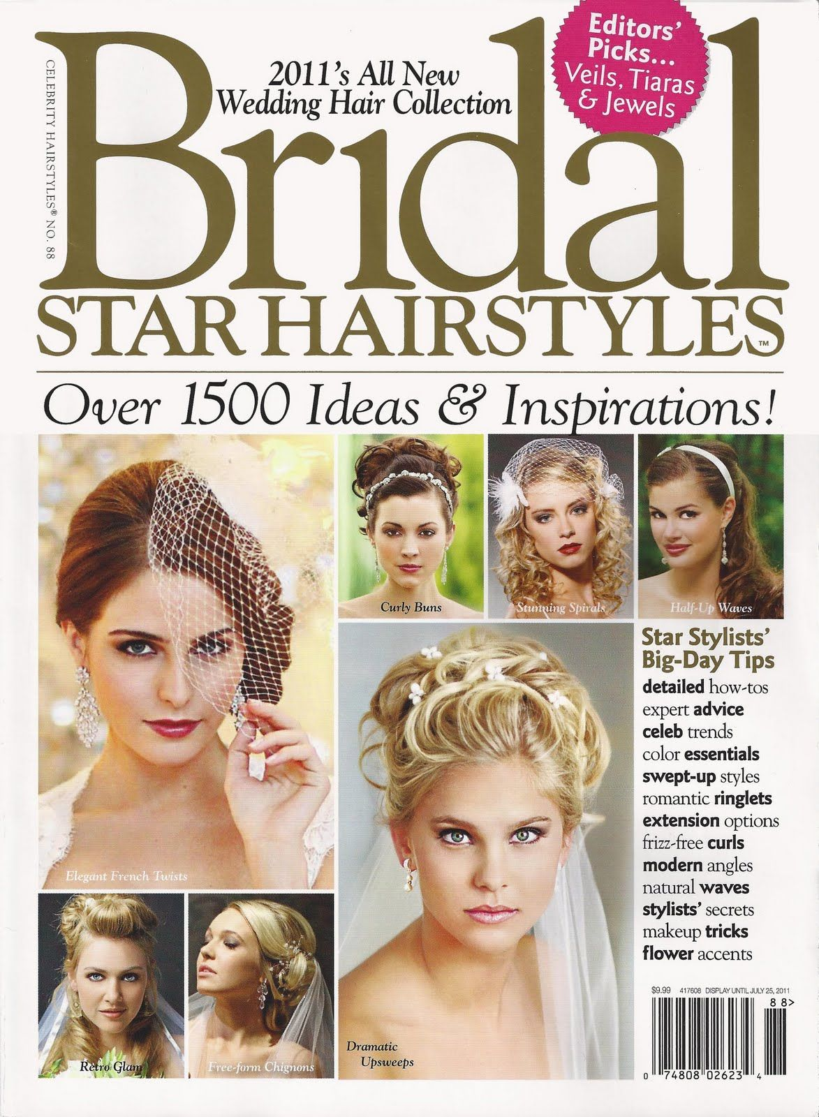 bridal star hairstyles magazine' featuring some of mandy