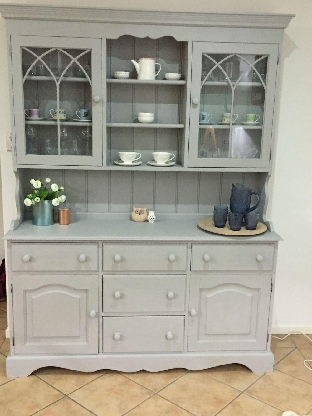 Dresser After Painted With Annie Sloan Chalk Paint Paris