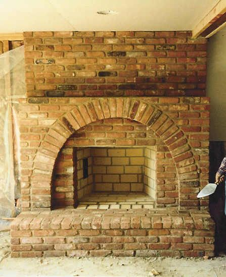 Another Recessed Square Firebox With Outer Brick Arch