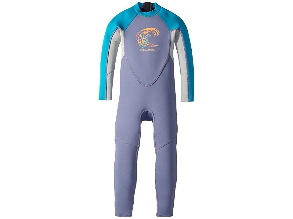 O Neill Kids Reactor Full Wetsuit Infant Toddler Little Kids Mist Cool Grey Capri Breeze Kid S Wetsuits One Piece Keep Your G Clothes Wetsuit Free Clothes